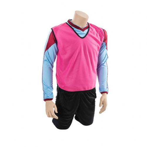 Mesh Training Bib (Infants, Kids) - Pink